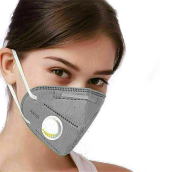 10PCS KN95 Folding Valved Dust Mask PM2.5 Anti dust Formaldehyde Bad Smell Bacteria Proof Face Mouth Mask Safe Breathable