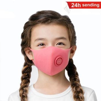 Fast Delivery Hot Sale In stock N95/PM2.5 Anti Pollution Anti Fog Kid Mask filter pm2.5 Respirator Washable Reusable mask