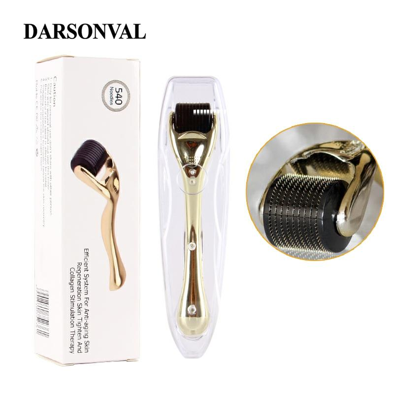 DARSONVAL DRS 540 derma roller micro needles titanium mezoroller microneedle machine for skin care and body treatment